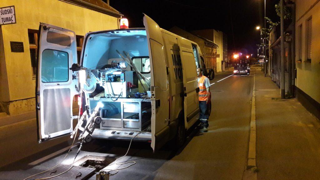 CCTV inspekcija stanja kanalizacijskih cjevovoda